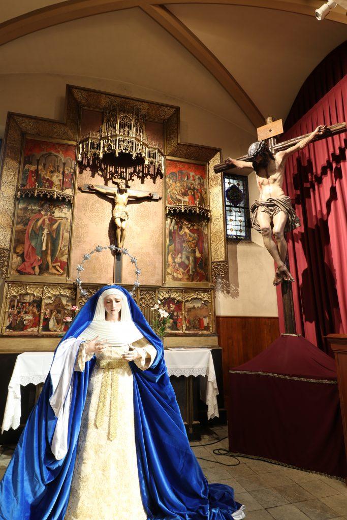 Foto de Virgen en exposición